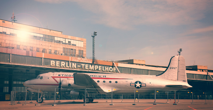 Flughafen Berlin Tempelhof Reparaturverglasung